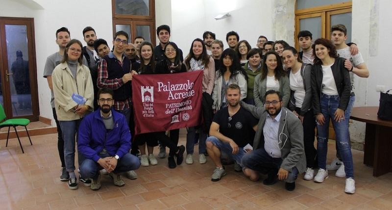 Giovani al Workcamp Di Palazzolo