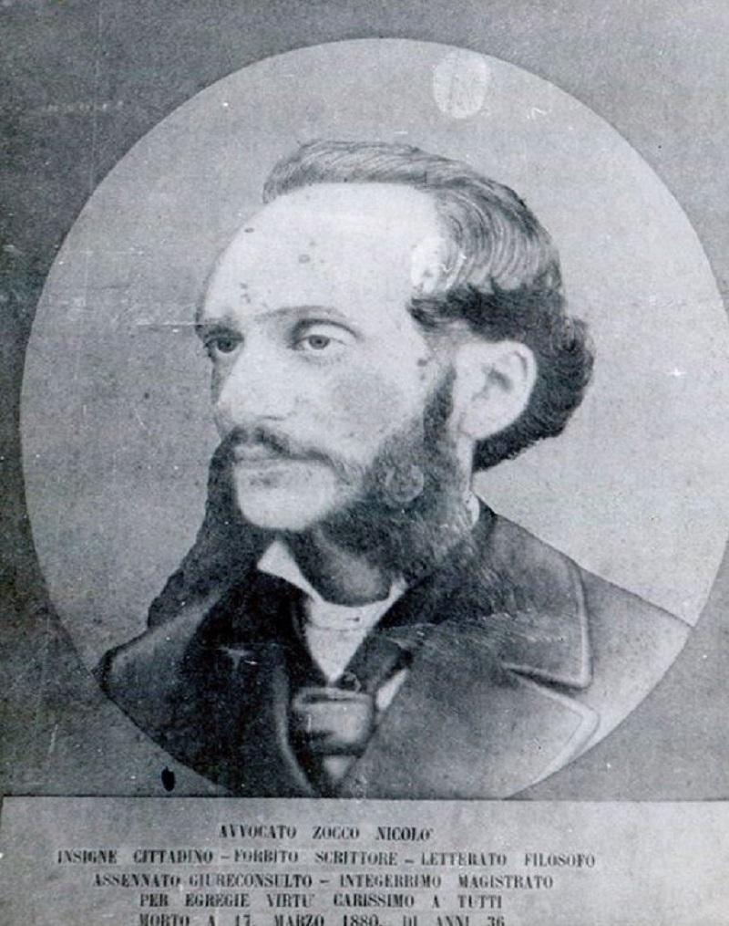 Nicolò Zocco avvocato di Palazzolo di cui fu precettore Giuseppe D'Albergo