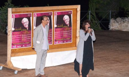 Marcello Cappelli e l'attrice di teatro Lucia Sardo
