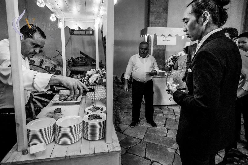 Il wedding realizzato dall'azienda Valentino