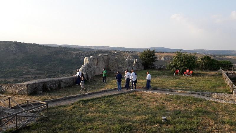 Zona del castello medievale di Palazzolo dove si svolgerà vicoli e sapori