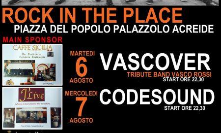 Locandina rock a Palazzolo