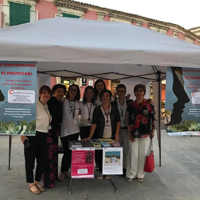Screening il Piazza a Palazzolo per la prevenzione tumori
