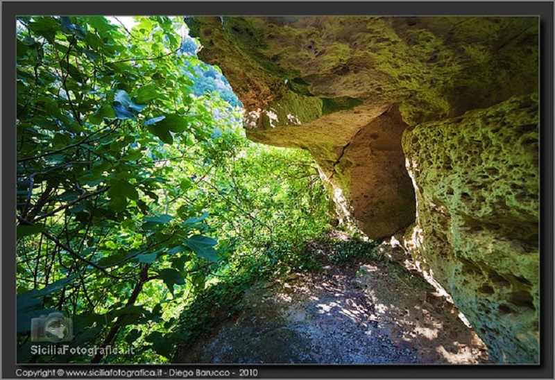 I ddieri di Bauly tra vegetazione e rocce