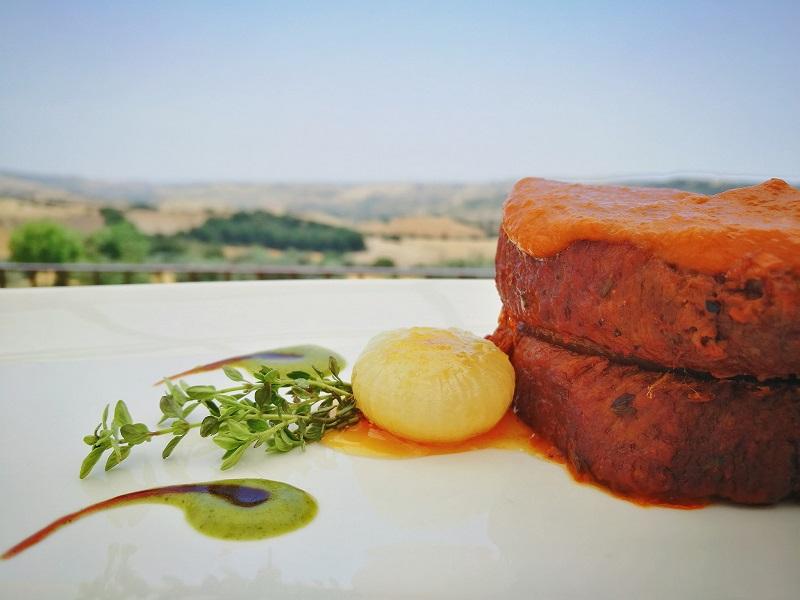 Piatto tipico del cibo e della gastronomia di Palazzolo