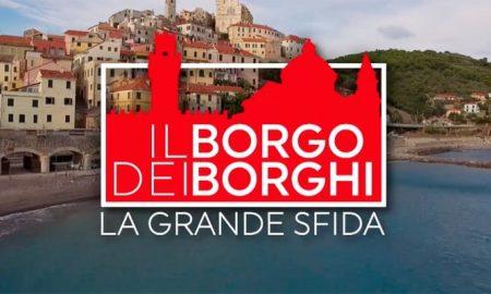 La locandina della sfida finale tra i borgi d'Italia