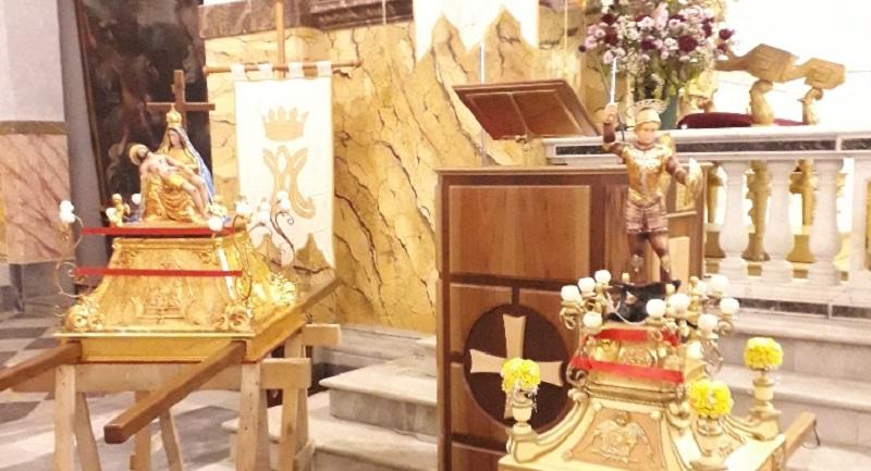 La festa delle varette con quella dell'Addolorata e di San Michele