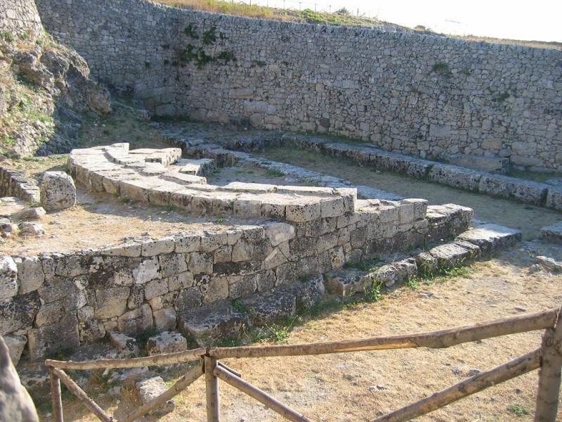 Bouleuterion a Palazzolo che si potrà visitare nella giornate di yallers