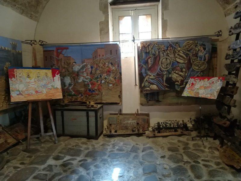 Casa Museo Antonino Uccello con alcune opere esposte