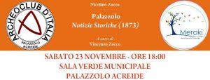 Evento Su Zocco a Palazzolo promosso da Archeoclub