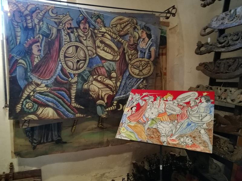 Le opere di Bennardo esposte alla Casa Museo di Antonino Uccello