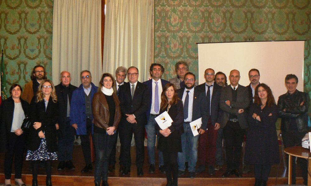 Sindaci e staff alla presentazione del progetto sul sudest Unesco