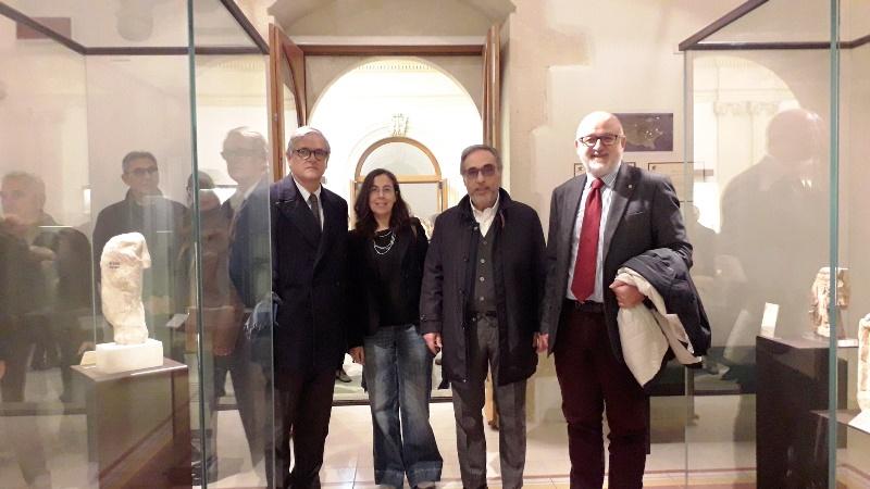 Inaugurazione Mostra di archeologia a palazzo Cappellani