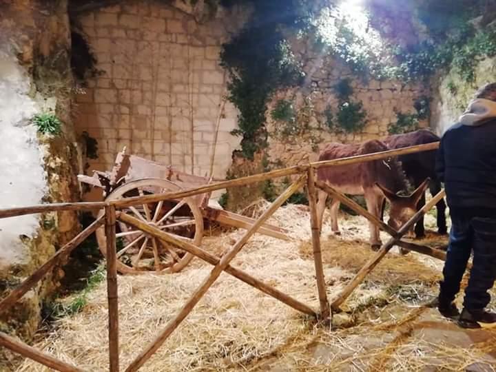 Presepe vivente per il Natale a Palazzolo