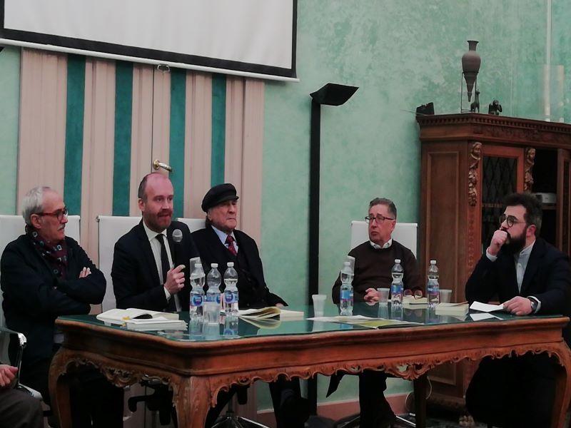 Conferenza Sicilia i luoghi del genio introduce Avv. Sebastiano Infantino