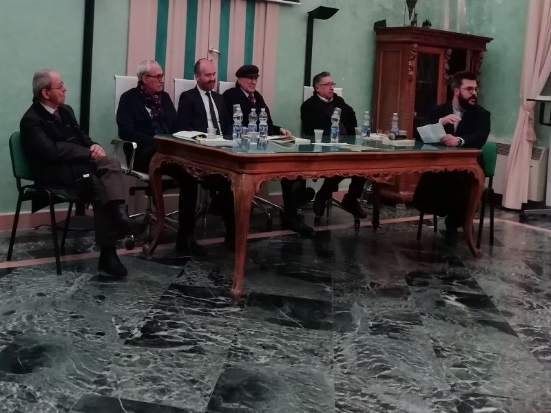 I I Relatori del testo Sicilia Luoghi Del Genio. Evento in Comune