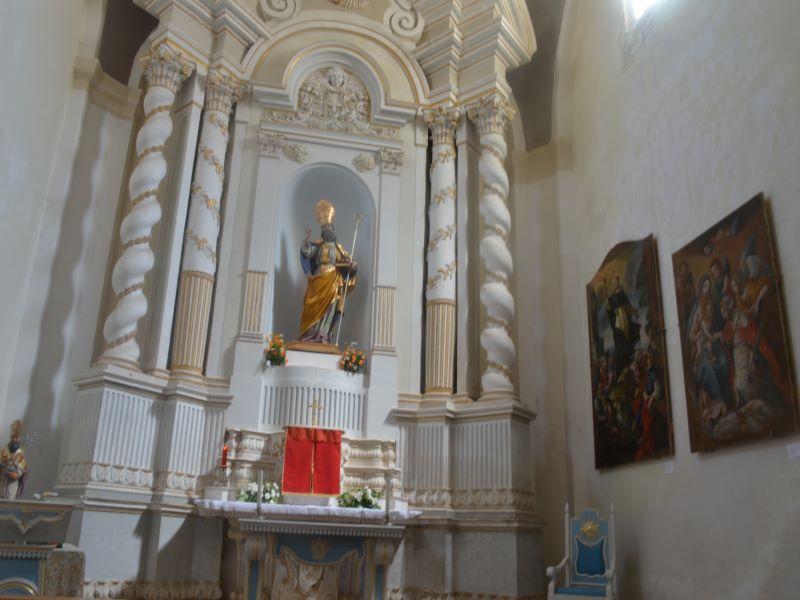 Interno Chiesa Madre, dove risiedeva il Vicario Foraneo