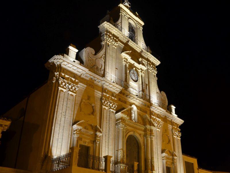 Corradino D'Albergo: ricorda la sua città con le sue chiese:Chiesa San Sebastiano1