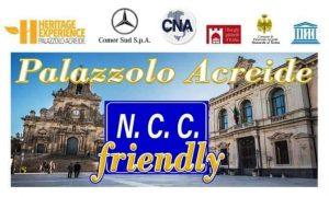 Il manifesto dell'evento Ncc friendly a Palazzolo