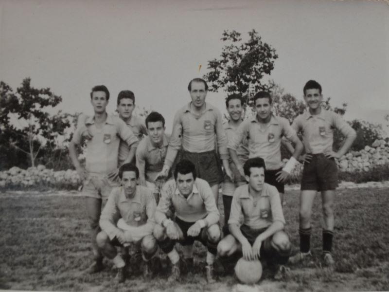 Il calcio palazzolese: Squadra Formazione Antica