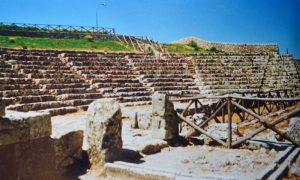 Corradino D'Albergo: poeta ricorda la sua Akrai: Teatro greco (foto Ugo Santoro)