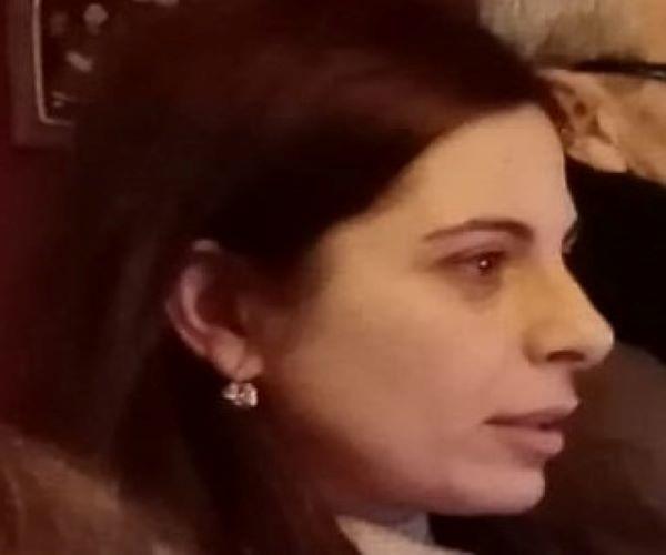 Cristina Russo dottoressa in Inghilterra