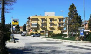 Ingresso Palazzolo Borgo da via Nazionale