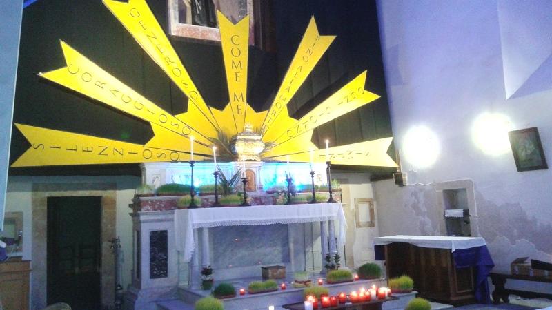 Nella chiesa di San Francesco uno dei sepolcri di Palazzolo