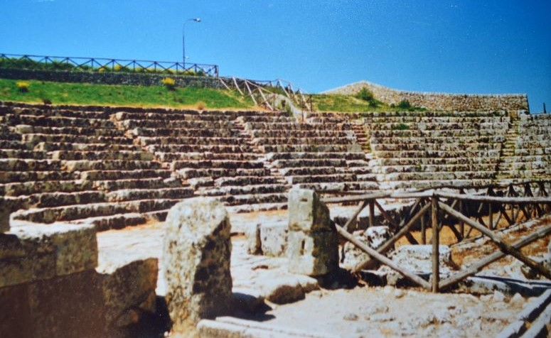 Akrai antica -Teatro greco(foto Ugo Santoro
