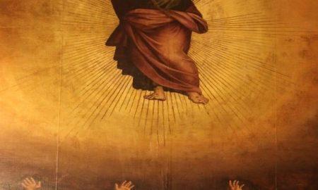 La Notte dell'Ascensione: Ascensione di Cristo dello Zacchia,