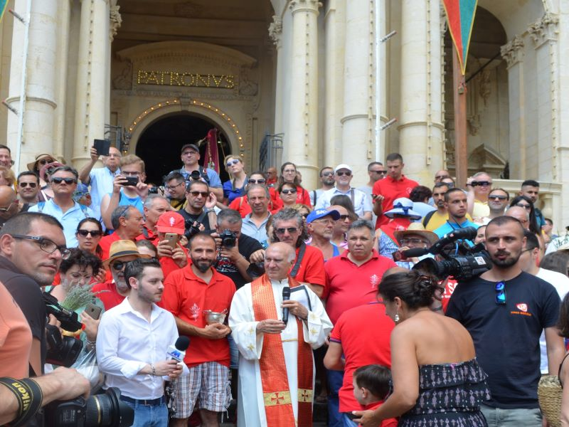 Marija Elektra: Festa di San Paolo Benedizione del pane