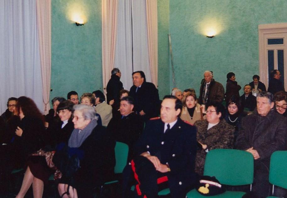 Conferenza su Giuseppe: Nunzia in prima fila