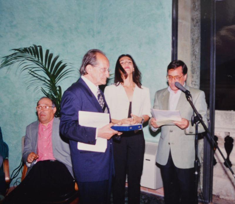 Assegnazione Premio Rovella 1997 (foto Ugo Santoro