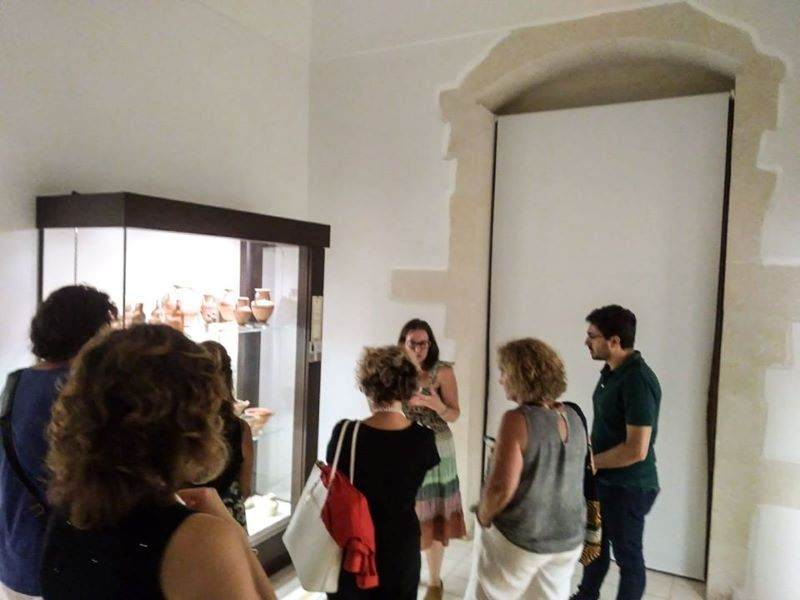 Associazione Archeoclub:Visita Museo Archeologico Judica