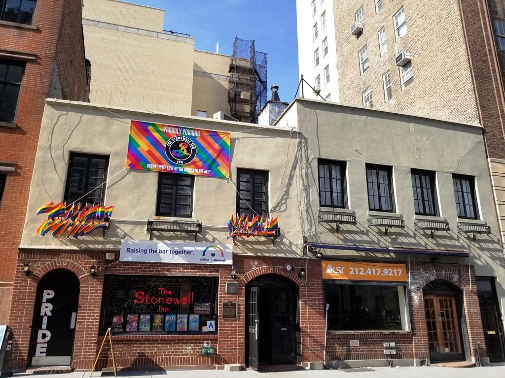 Lo Stonewall Inn dove avvenne lo scontro