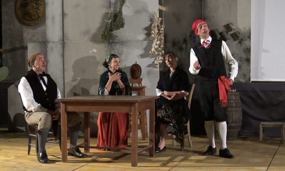 "Una scena tratta da ""Cavalleria rusticana"""