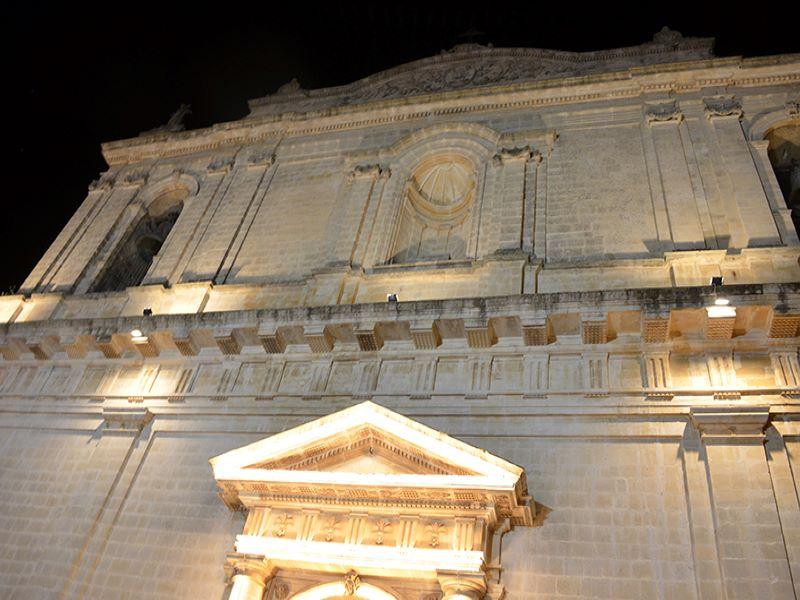 Il barocco ibleo, architetto Ferrara: prospetto Chiesa Madre