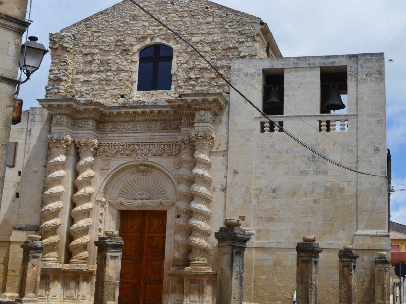 Chiesa dell'Annunziata, dove era il quadro di Antonello daMessina