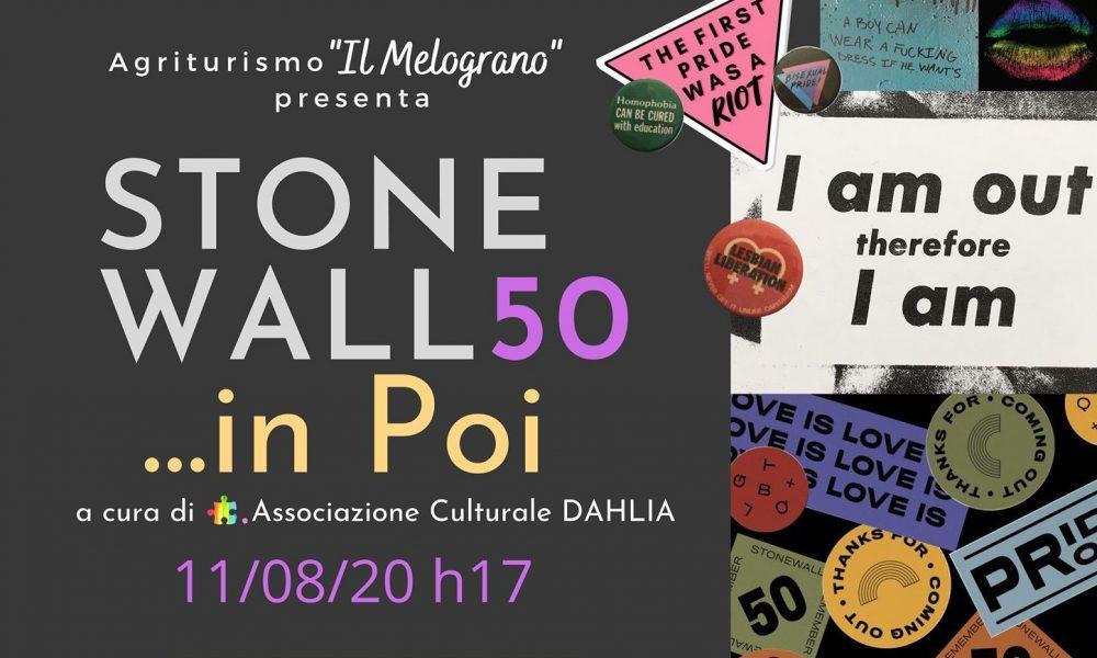 Stonewall, il manifesto dell'edizione 2020
