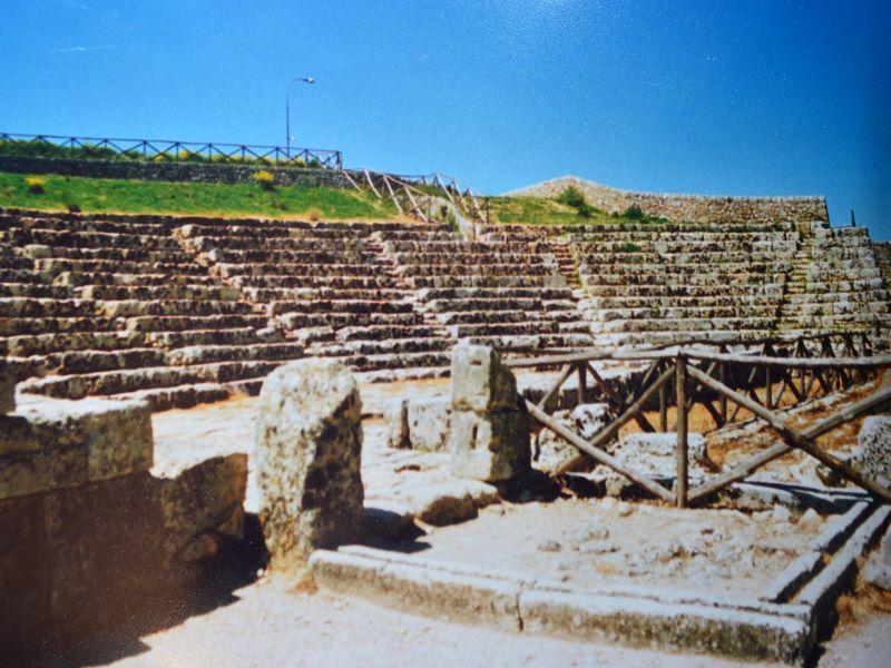 Gaetano Italia Niastro: Akrai-Teatro greco