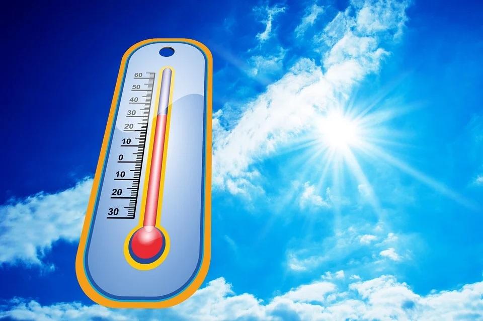 Temperature alte a rischio ondate di caldo