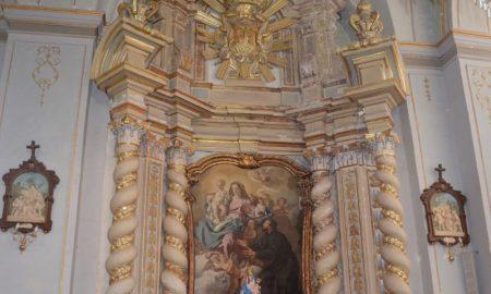 Altari arocchi: Altare san Gaetano di Thiene presso la chiesa di San Paolo