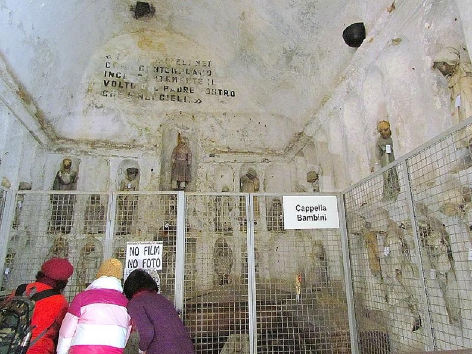 Cappella dei Bambini alle catacombe dei cappuccini