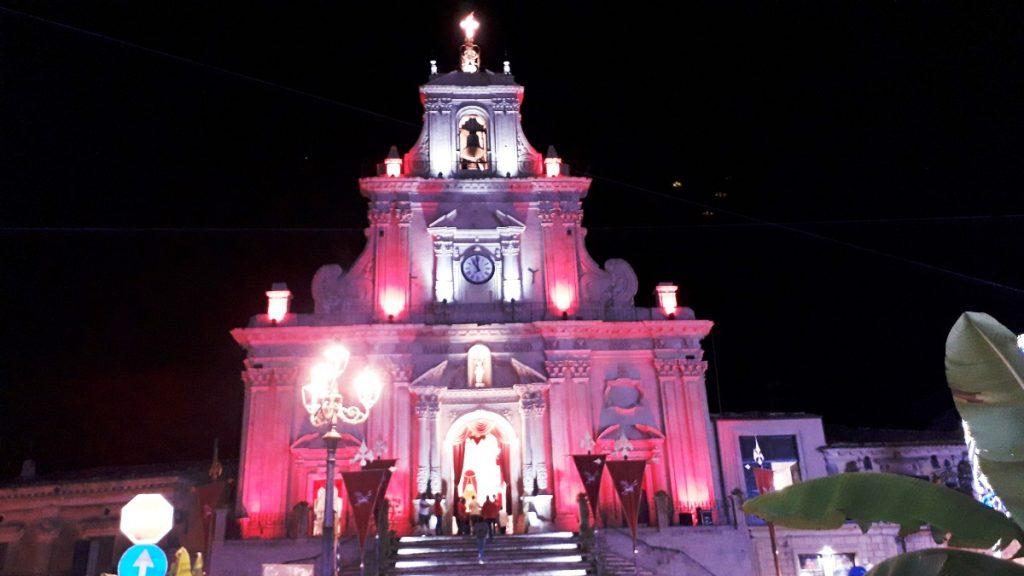 San Sebastiano gente, la chiesa illuminata