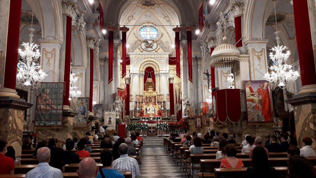 La celebrazione di San Sebastiano tra la gente