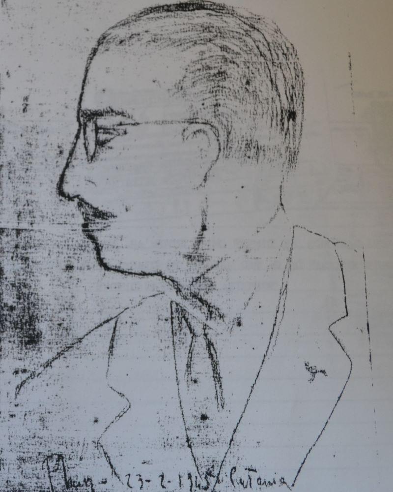 Antonino Pantano: Ritratto giovanile di Pantano da Giuseppe Fava