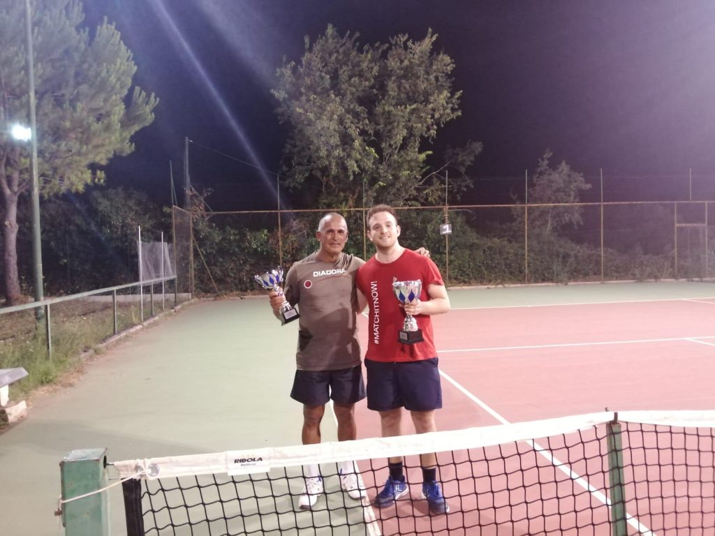 I finalisti del torneo del circolo tennis