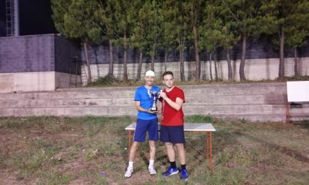 La premiazione del torneo del circolo Tennis di Palazzolo