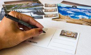 Cartoline pensate dall'hostaria di Mendolia
