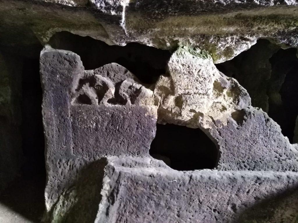 Le catacombe: ipogeo di Senebardo